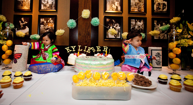 Kylie and Sebastian's First Birthday